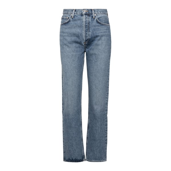 Straight leg blue jeans                                                                                                                               Agolde A154 back