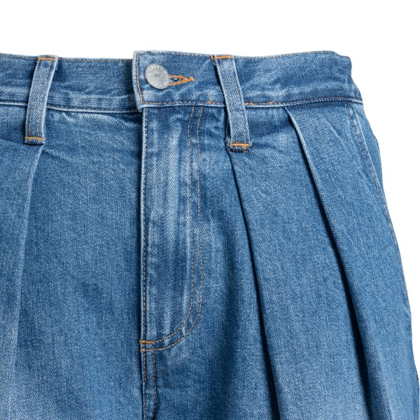Jeans svasati blu con pinces                                                                                                                           ALICE+OLIVIA ALICE+OLIVIA