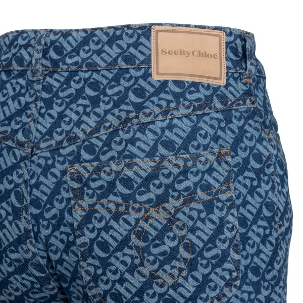 Jeans con motivo logo                                                                                                                                  SEE BY CHLOE SEE BY CHLOE
