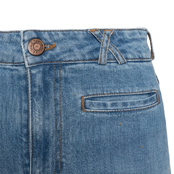 Flared jeans with interwoven pocket                                                                                                                    SEE BY CHLOE