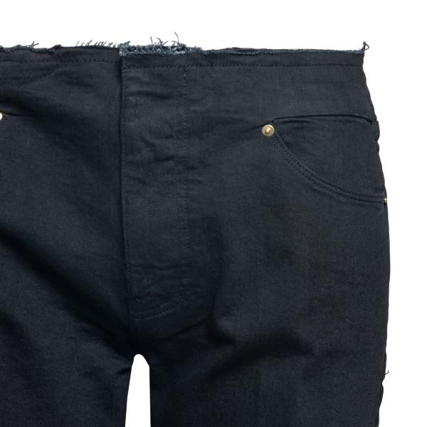 Black jeans with slit                                                                                                                                  FRAME DENIM
