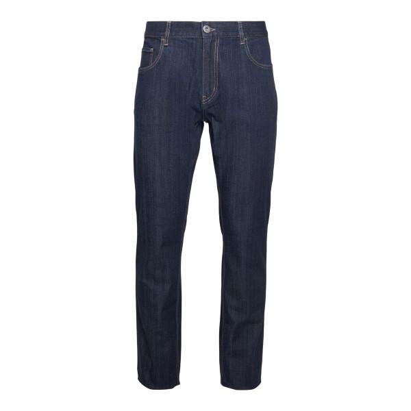 Straight leg dark blue jeans                                                                                                                           PRADA
