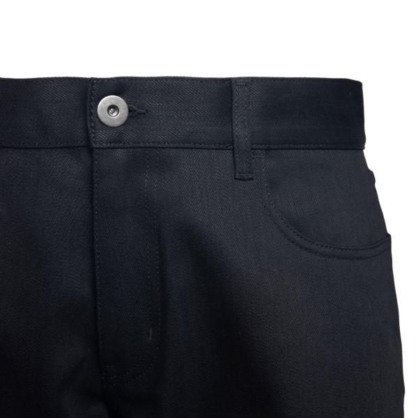 Jeans neri straight                                                                                                                                    PRADA                                              PRADA