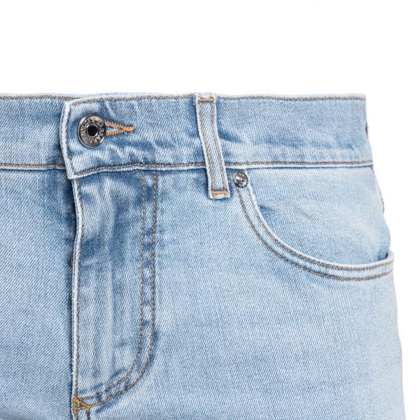 Jeans dritti in denim azzurro chiaro                                                                                                                   DOLCE&GABBANA                                      DOLCE&GABBANA