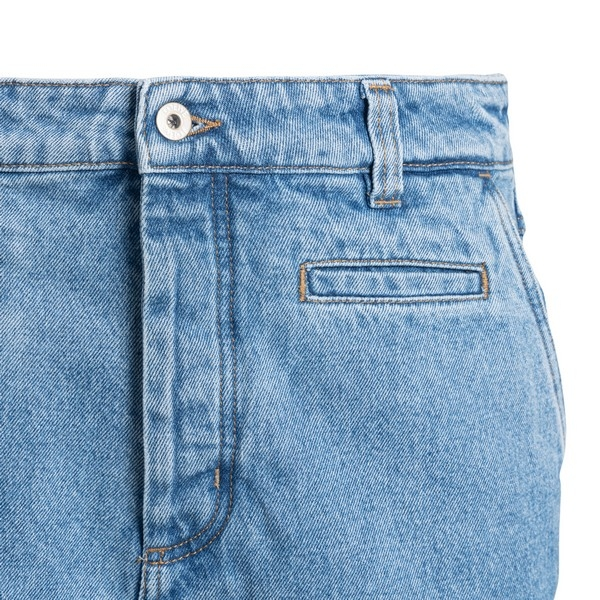 Jeans cropped con risvolto                                                                                                                             LOEWE                                              LOEWE