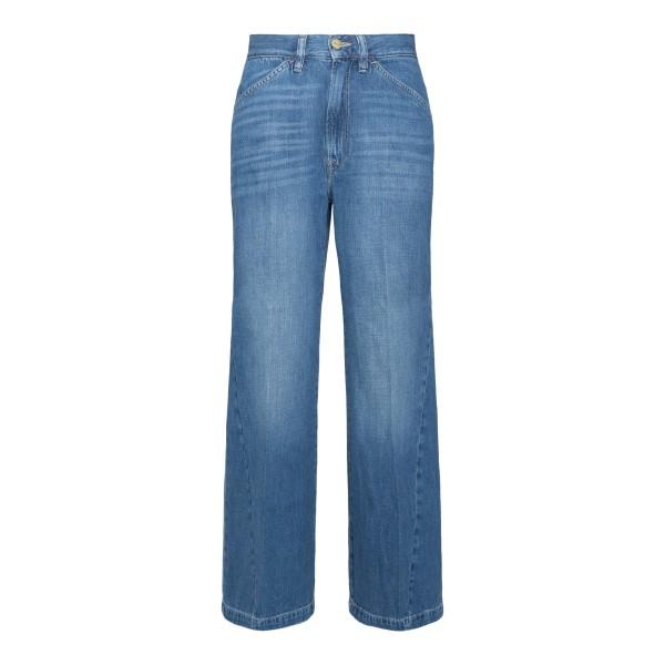 Jeans blu chiaro a gamba dritta                                                                                                                        FRAME DENIM                                        FRAME DENIM