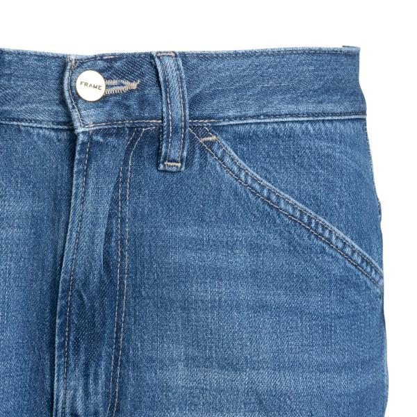Straight leg light blue jeans                                                                                                                          FRAME DENIM