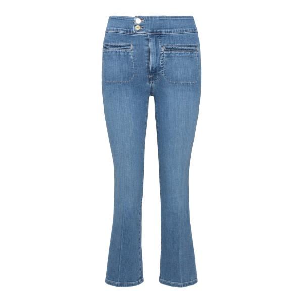 Jeans blu svasati con tasche frontali                                                                                                                 Frame Denim LHDCF230 retro