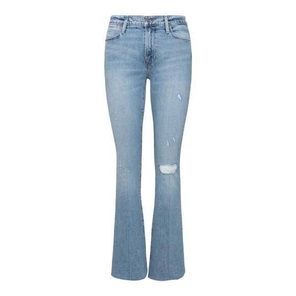 Jeans svasati a effetto vissuto                                                                                                                        FRAME DENIM                                        FRAME DENIM