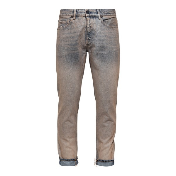 Beige jeans with faded effect                                                                                                                         Pence MALCOS front