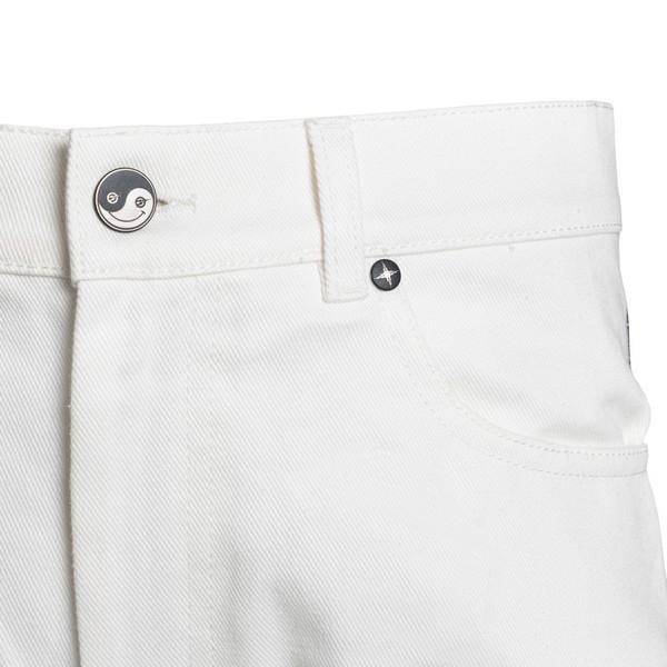 Jeans bianchi con stampa sul retro                                                                                                                     FORMYSTUDIO                                        FORMYSTUDIO