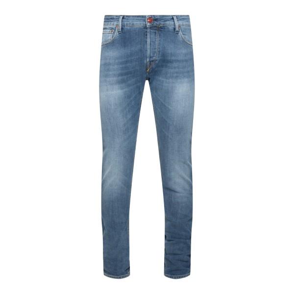 Light blue skinny jeans                                                                                                                               Hand Picked ORVIETO back