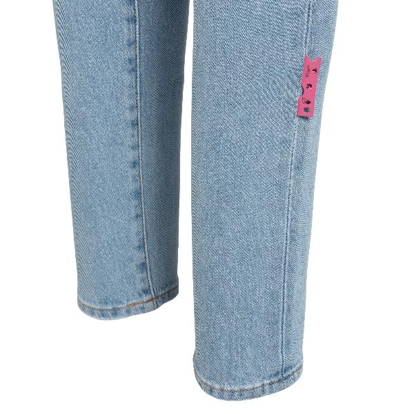 Skinny jeans in light blue denim                                                                                                                       OFF WHITE