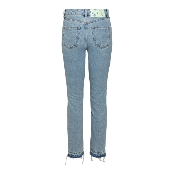 Denim jeans with small print                                                                                                                           OFF WHITE