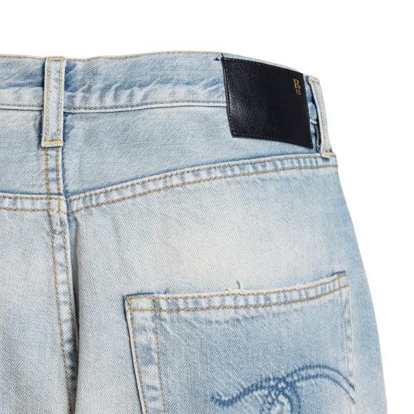 Wide leg light blue jeans                                                                                                                              R13