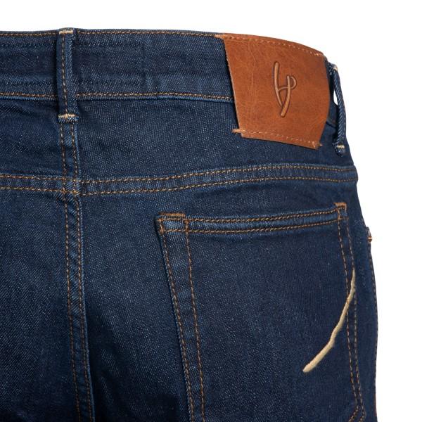 Classic jeans in dark blue denim                                                                                                                       HAND PICKED