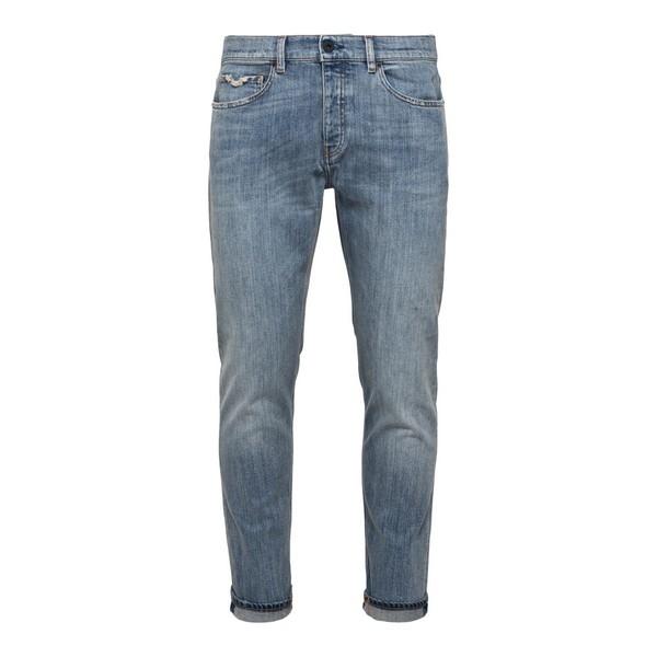 Jeans classici in denim blu chiaro                                                                                                                    Pence RICOS fronte