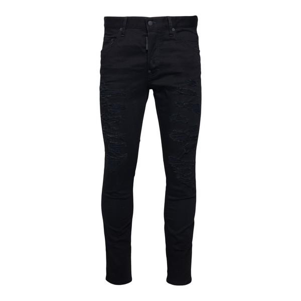 Jeans skinny neri                                                                                                                                     Dsquared2 S71LB0844 fronte