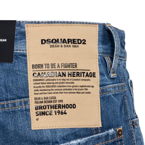 Jeans slim blu a effetto vissuto                                                                                                                       DSQUARED2                                          DSQUARED2