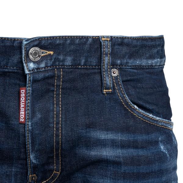 Jeans blu slim a effetto vissuto                                                                                                                       DSQUARED2                                          DSQUARED2