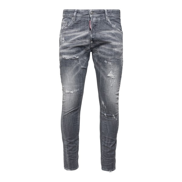 Grey jeans with worn effect                                                                                                                           Dsquared2 S74LB0935 front