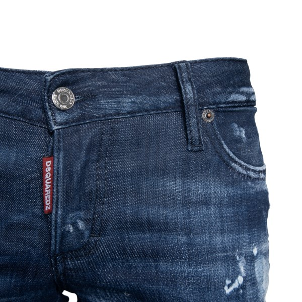 Jeans blu con effetto vissuto                                                                                                                          DSQUARED2                                          DSQUARED2