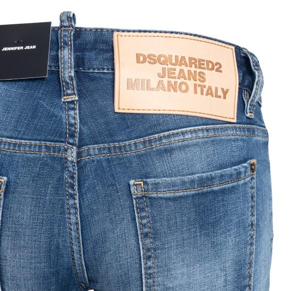 Lightened blue skinny jeans                                                                                                                            DSQUARED2