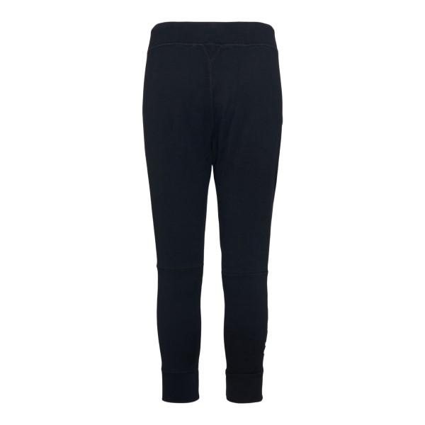 Pantaloni sportivi neri con nome brand                                                                                                                 DSQUARED2                                          DSQUARED2