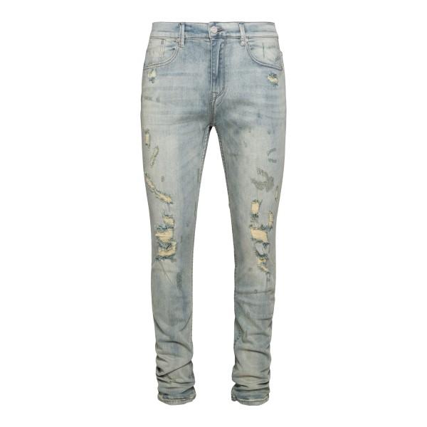Distressed effect skinny jeans                                                                                                                        Stampd SLAM110DE back