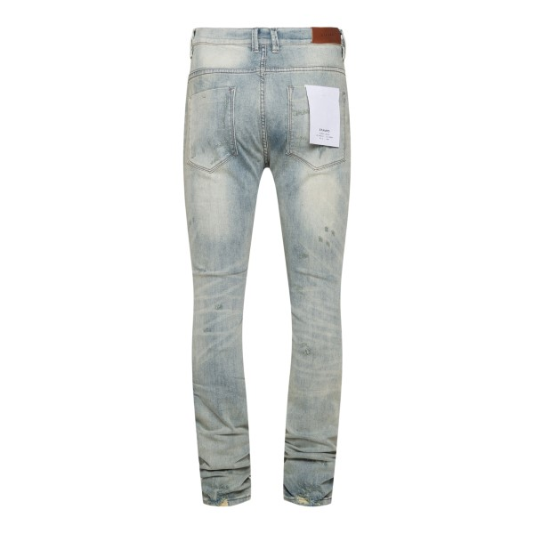 Distressed effect skinny jeans                                                                                                                         STAMPD