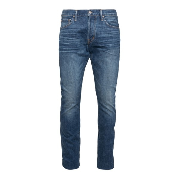 Classic denim blue jeans                                                                                                                              Tom ford TFD001 front