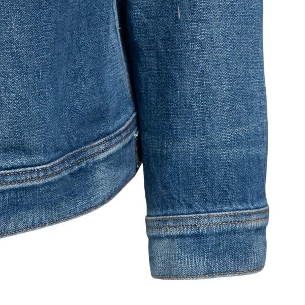 Classic blue denim jacket                                                                                                                              TOM FORD