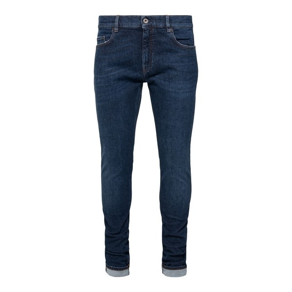 Jeans aderenti in denim blu scuro                                                                                                                     Pence TOSCOL fronte