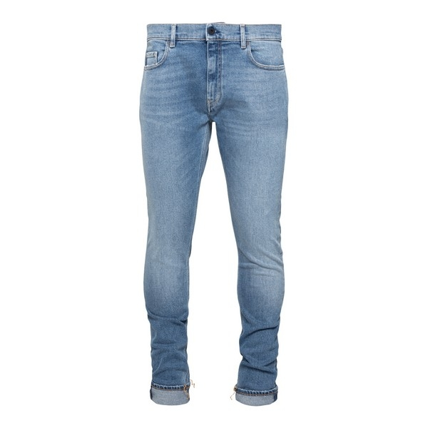 Skinny jeans in light blue denim                                                                                                                      Pence TOSCOL front