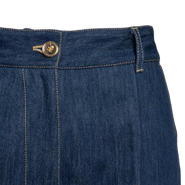 Dark blue jeans with cuff                                                                                                                              PATOU