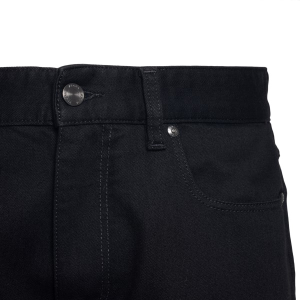 Black jeans with logo embroidery                                                                                                                       ZEGNA