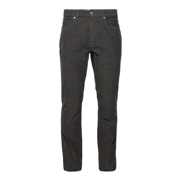 Jeans in colore verde scuro                                                                                                                           Zegna ZZ530 fronte