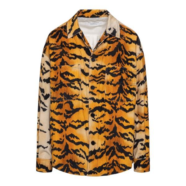 Tiger motif shirt                                                                                                                                      PHILOSOPHY