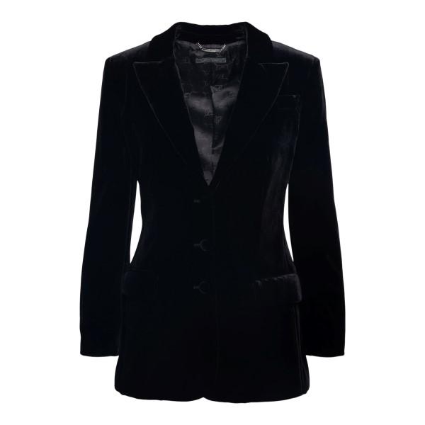 Black velvet blazer                                                                                                                                    ALBERTA FERRETTI
