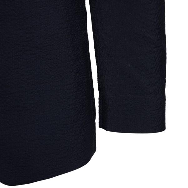 Jacket in dark blue color                                                                                                                              REVERES