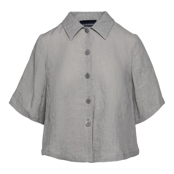 Camicia oversize grigia                                                                                                                               Emporio Armani 0NG4LT retro