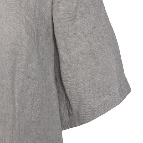 Grey oversize shirt                                                                                                                                    EMPORIO ARMANI
