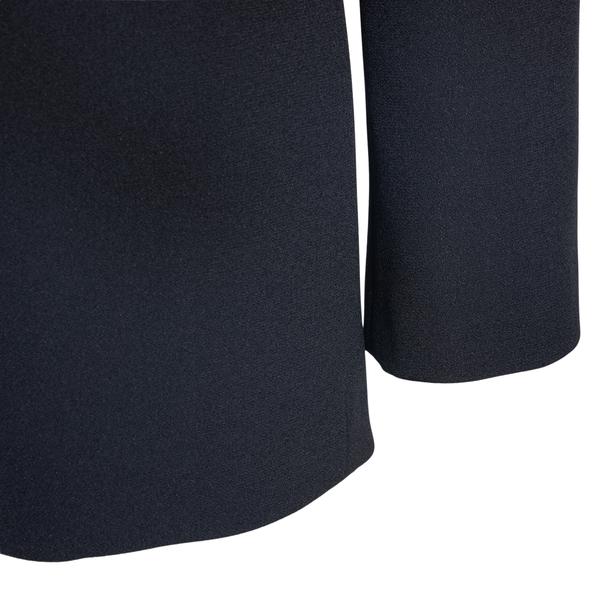 Blazer nero con zip                                                                                                                                    VERSACE VERSACE