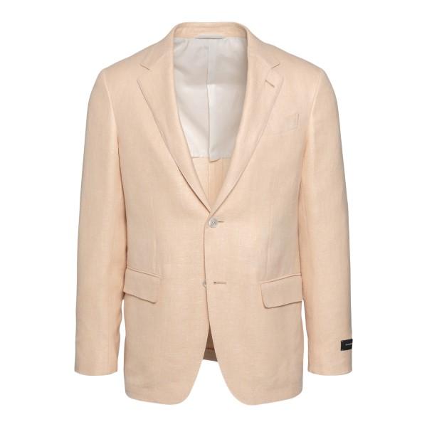 Light pink blazer with logo                                                                                                                           Zegna 10FTK0 back