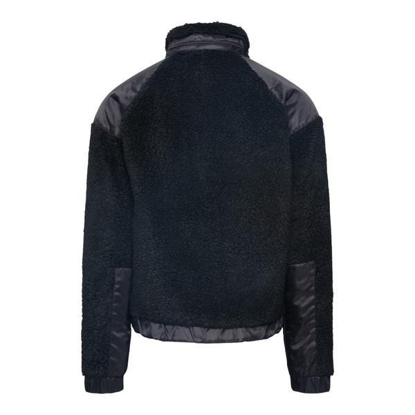 Black shearling jacket                                                                                                                                 MISBHV