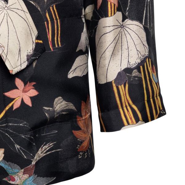 Black floral jacket                                                                                                                                    ETRO