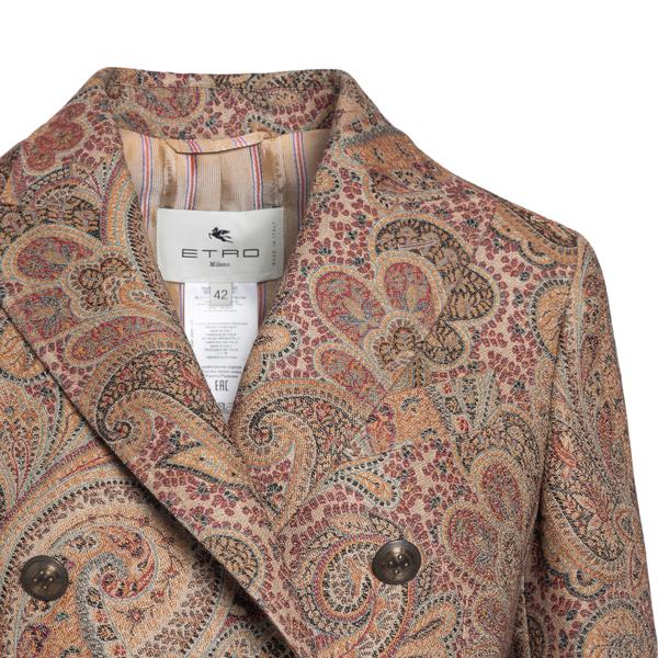 Paisley pattern blazer                                                                                                                                 ETRO