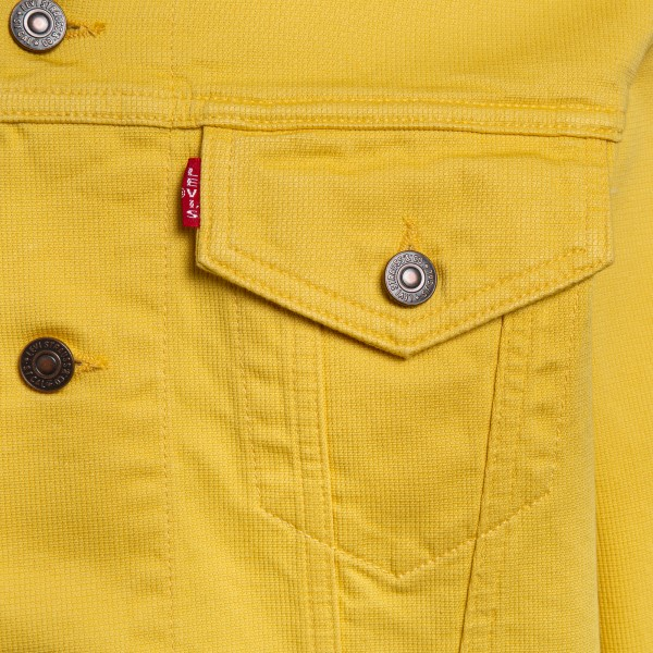 Yellow jacket with pockets                                                                                                                             LEVI'S