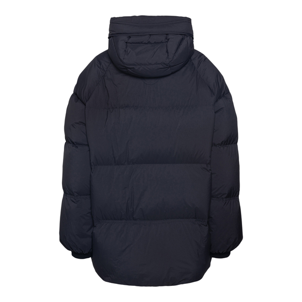 Black down jacket with high collar                                                                                                                     MONCLER 1952