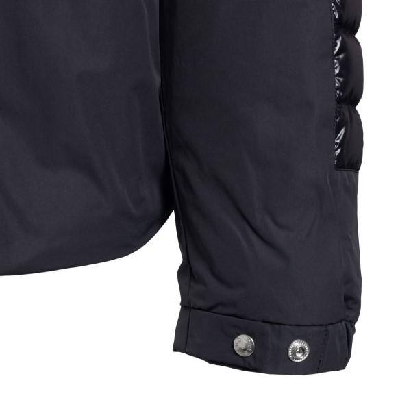Giacca nera con fascia logo                                                                                                                            MONCLER                                            MONCLER